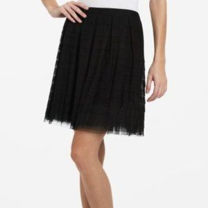BCBG Alegra Ruffle Skirt Size Small